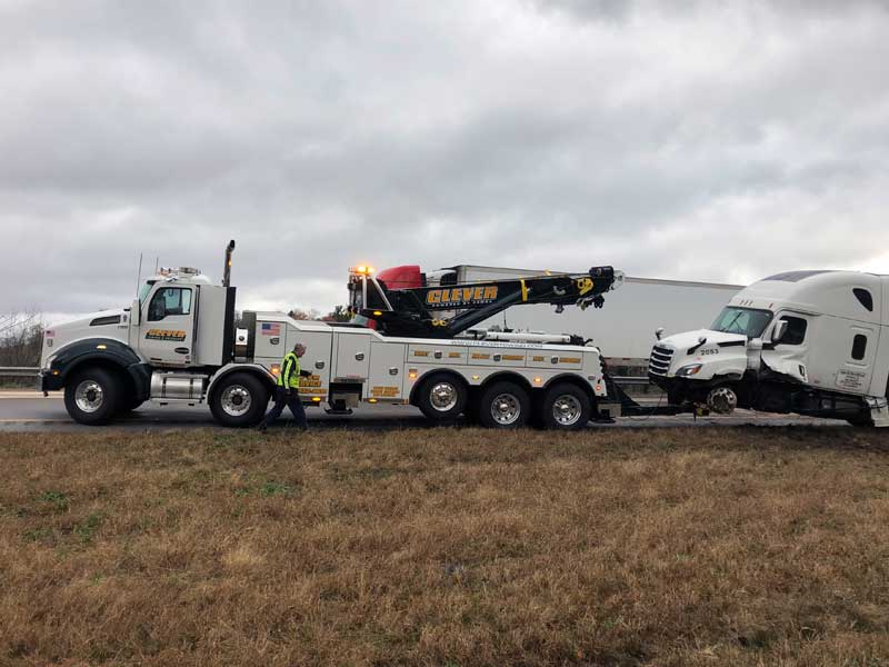 Clever Towing Auto Recovery Vehicle Salvage Accident Cleanup Environmental Remediation Zanesville Ohio