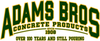 adams bros concrete zanesville ohio